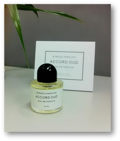 Accord Oud Byredo parfum