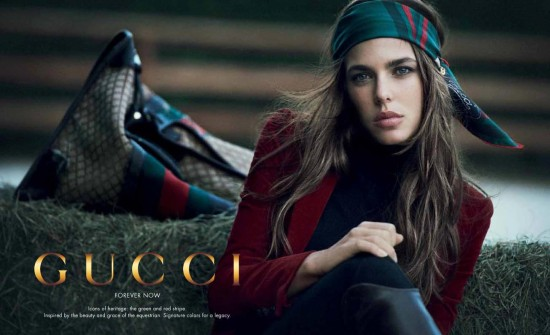 Charlotte Casiraghi Gucci Forever Now - Forever Now Gucci Ad 2013