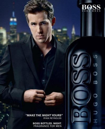 Boss Bottled Night Hugo Boss Ad