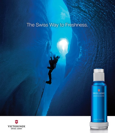 عطر سويز ارمي ماونتن ووتر Swiss Army Mountain Water Victorinox
