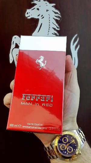 Ferrari Man in Red